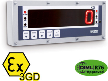 D - DGT603GD Weight Repeater for Atex 2 & 22 Zones